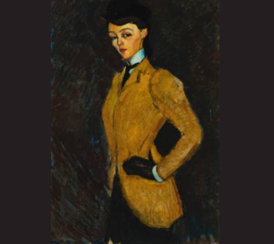 Amedeo Modigliani's L'Amazone also fetched $26 million at the auction