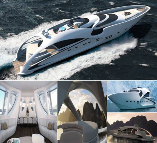 The Audax 130 superyacht