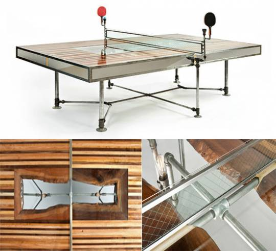 Pingtuated Equillibrium Ping Pong table