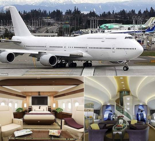 Boeing 747-8 Intercontinental passenger jet