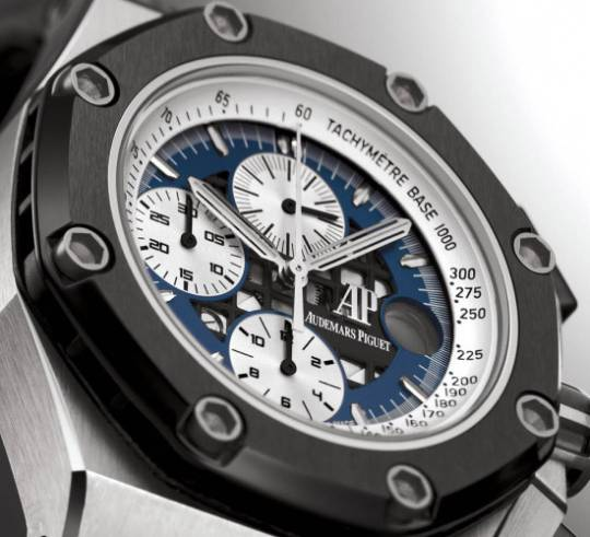 The Royal Oak Platinum Rubens Barrichello edition