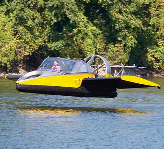 Hammacher Schlemmer flying hovercraft
