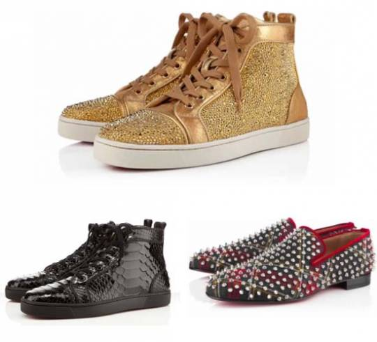 Christian Louboutin men's shoes.