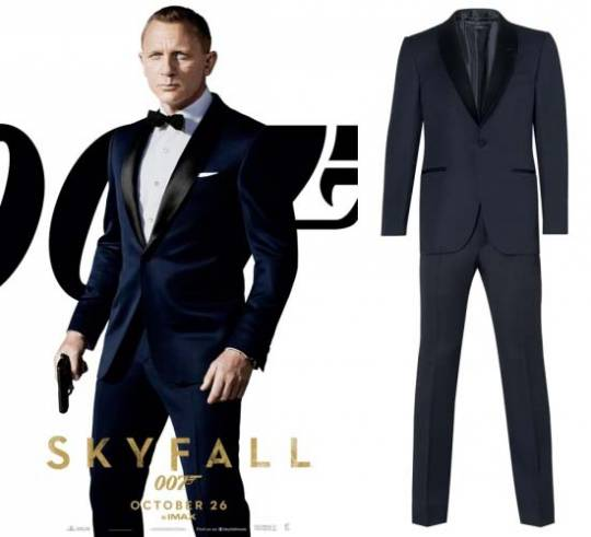 Tom Ford's James Bond Evening Tuxedos