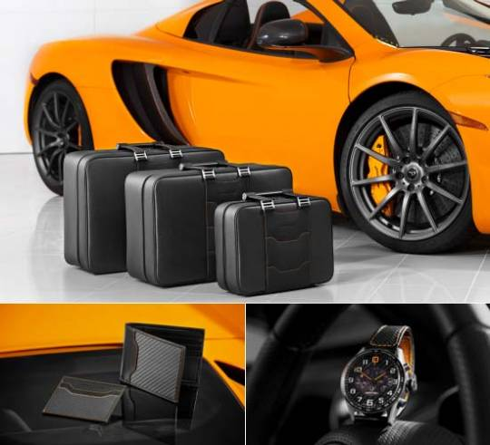 McLaren Automotive launches bespoke luggage & accessories for supercar owners