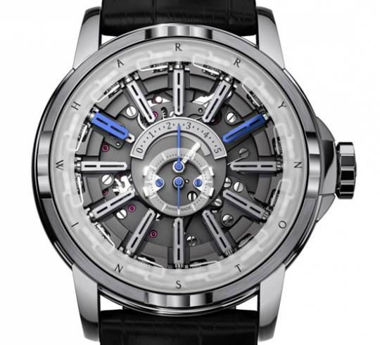 Harry Winston changes perception of time yet again with the Opus 12 watch