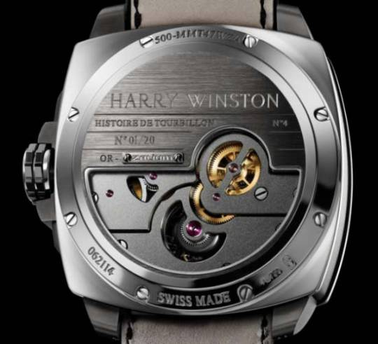 Harry Winston Histoire de Tourbillon 4 Watch is a limited-edition of 20 pieces