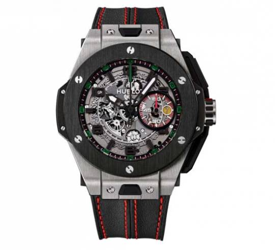Ferrari-stamped Hublot Big Bang Ferrari U.A.E. Limited Edition watch celebrates 25 Years of Ferrari
