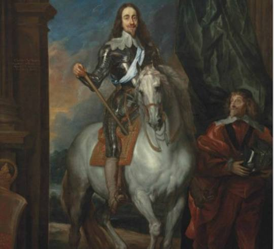 King Charles I portrait