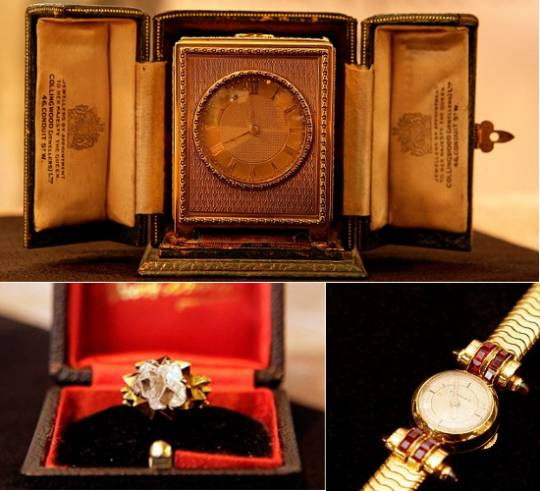 Late Princess Margaret's Personal items