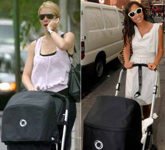 Other celebrity moms who have bought Bugaboo strollers include Gwyneth Paltrow and Myleene Klass