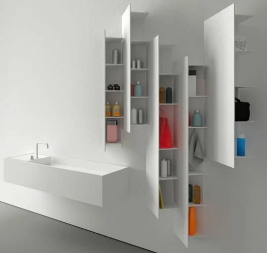 Boffi CTline shelving unit