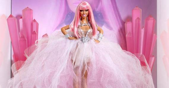 "She has collaborated with toy company Mattel to create a customized doll christened ""Minaj Barbie Doll"" which will be auctioned off at a charity website"