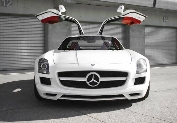 The rapper own a Mercedes SLS AMG which is one of his favorite sports car's
