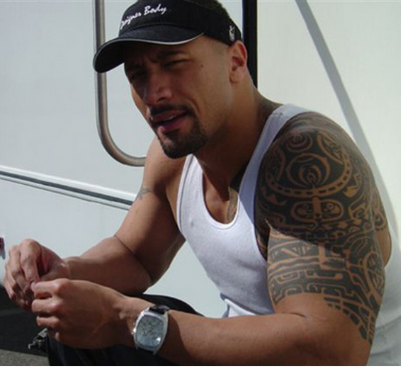 Dwayne Johnson was recently sporting IceTek Magnum Chrono Watch at a promotional event