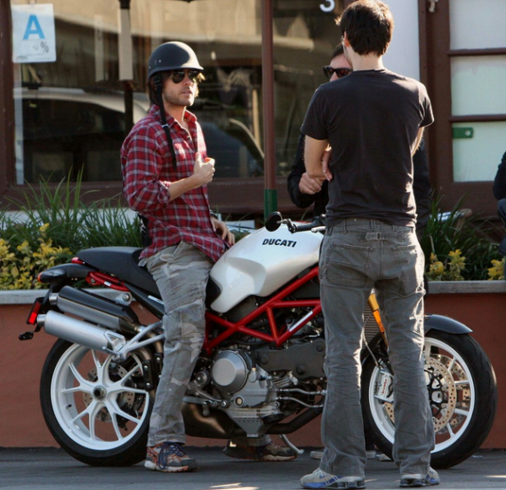 Jared Leto loves riding his ultimate high performance Ducati 1100S motorbike.