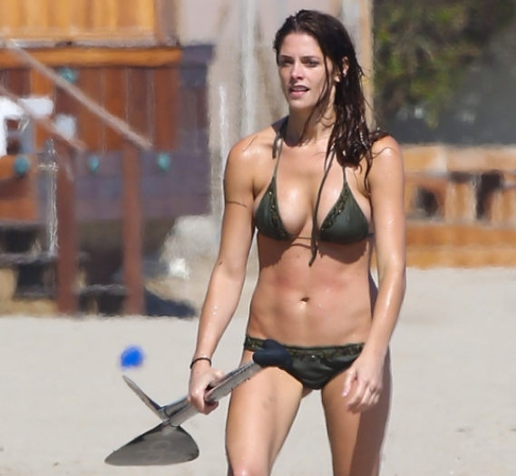 Ashley Greene in Malibu