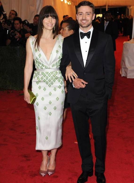 Justin Timberlake and his long-time sweetheart Jessica Biel