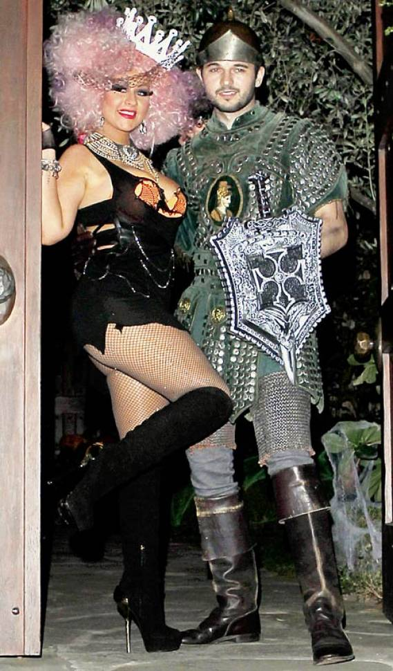 Christina Aguilera's Halloween costume