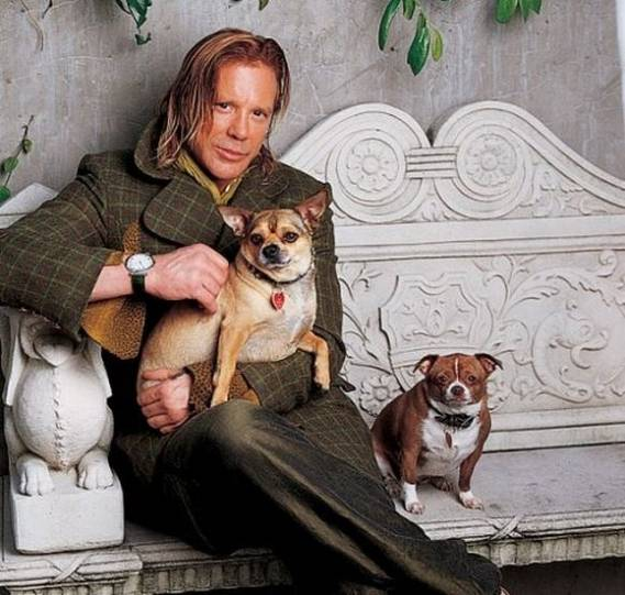 Mickey Rourke's Manhattan Apartment