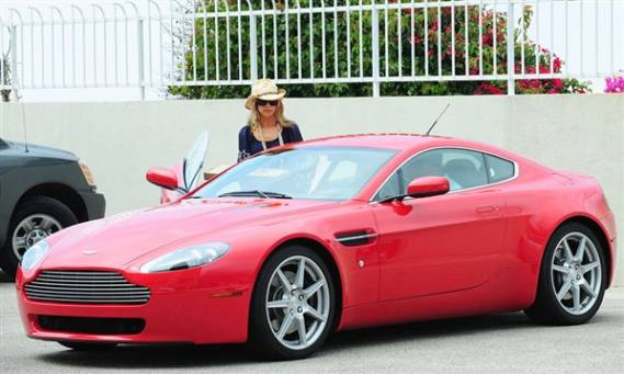 Denise Richards's	Aston Martin V8 Vantage