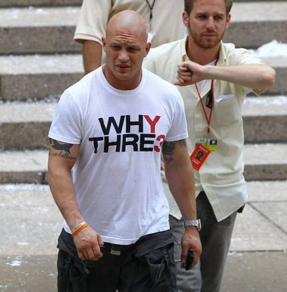 The actor was looking trendy sporting the cotton white Y3 Adidas T-Shirt from the Adidas and Yohji Yamamoto collection.
