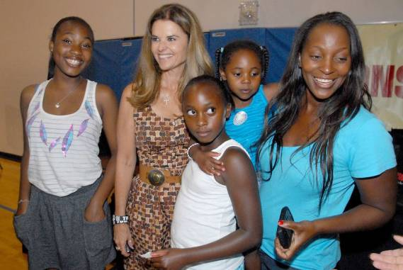 Maria Shriver supports Shriver National Center