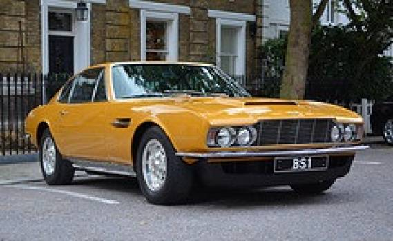 photo of Roger Moore Aston Martin - car