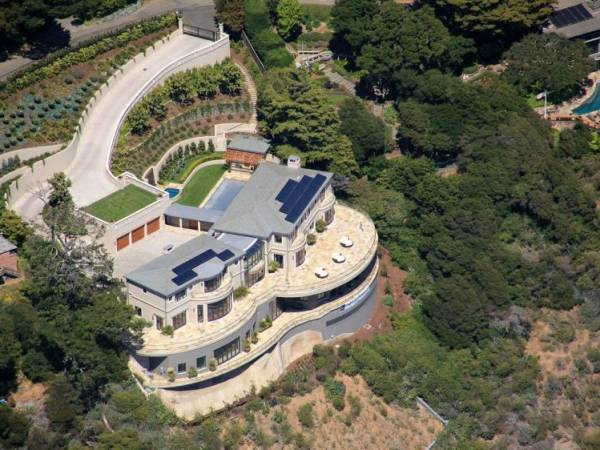 Villa Belvedere goes on a private auction at $45 million