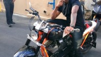 Usher with Brawler GTC  bike