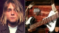 Smashed Kurt Cobain guitar up for grabs
