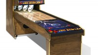 Bring alive the bowling spirit in your gaming room with the Parker Bohn III pro-bowler console
