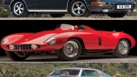 10 most expensive cars at the Monterey Auctions