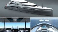 Illusion Superyacht inspired by the Rolls Royce motorcar to lure China's rich