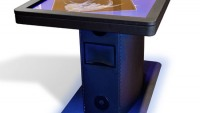 "Ideum's ruggedized multitouch tables withstood the ""Bowling Ball Test"""