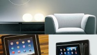 Bracketron & iRoom join hands for the world's first motorized in-wall iPad dock