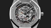 Audemars Piguet's platinum anniversary special Royal Oak watch