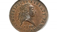 One of the most historic coins 1792 Silver Center cent may bring $1,000,000