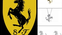 Ferrari Diamond Jewellery with Damiani is inspired by the prancing horse