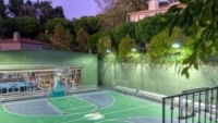 The huge sports court