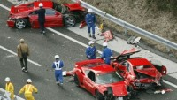 Most expensive luxury car crashes of 2012