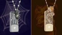 Anita Mai Tan $880,000 Dragon and Spider iPhone case can be worn as a necklace