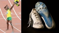 World's fastest man Usain Bolt's running spikes auctioned for $39,000