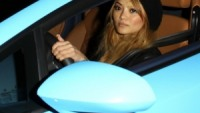 Tila Tequila drives Lamborghini Gallardo