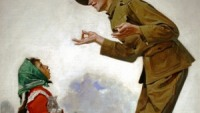 Polley Voos Fransay? (Soldier Speaking to Little French Girl)