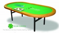 EGM Green Poker Table – Elite, Expensive, and Eco-friendly