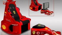 This multimedia F1 Chair will even drive Schumacher crazy