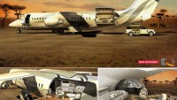 Design Q's ABJ Explorer aircraft concept opens up to reveal an air deck @ caravan style