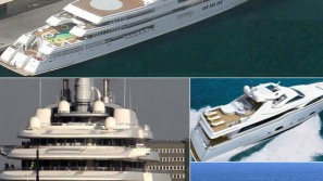 Luxury yachts of the super rich