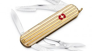 Diamond-encrusted Victoria Collection Swiss Army Knife